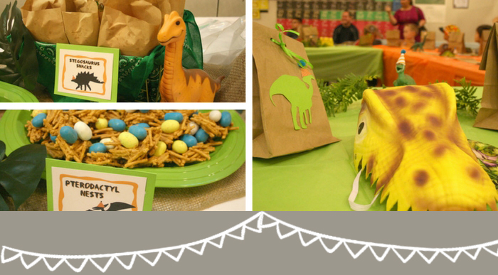 Dinosaur Themed Birthday Party