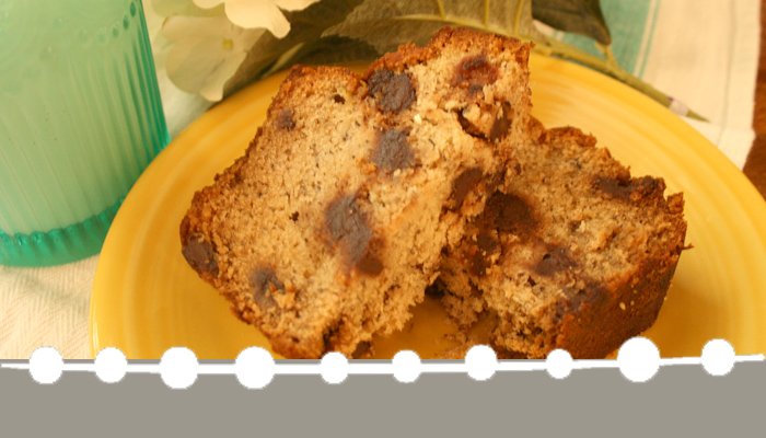 This gluten free banana bread recipe is sweet and moist -- the best gluten free chocolate chip banana bread recipe I've tried yet!