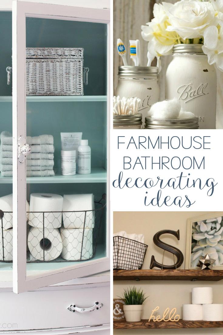 Farmhouse Bathroom Decorating Ideas Pin Hunny I 39 M Home
