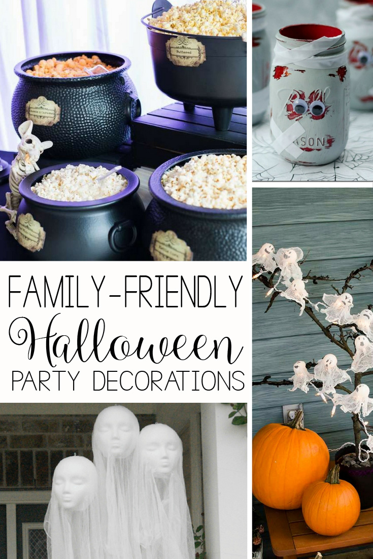 55 Family Friendly Halloween Party Ideas