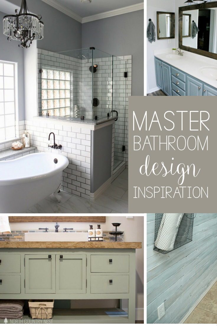 Farmhouse Master Bathroom Design Ideas And Layout Inspiration