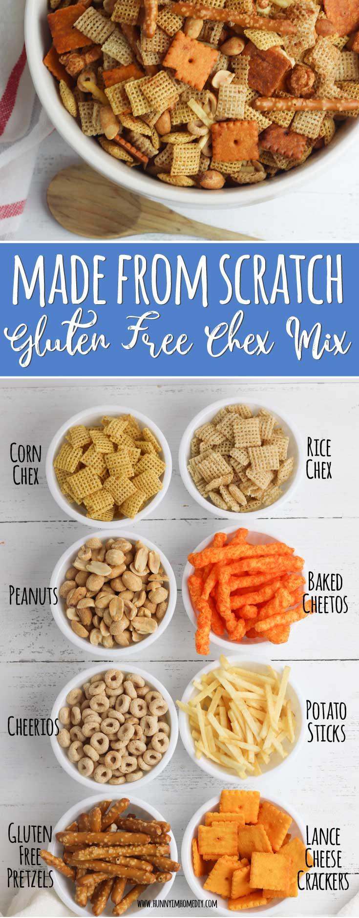 Easy Homemade Gluten Free Chex Mix Hunny I M Home