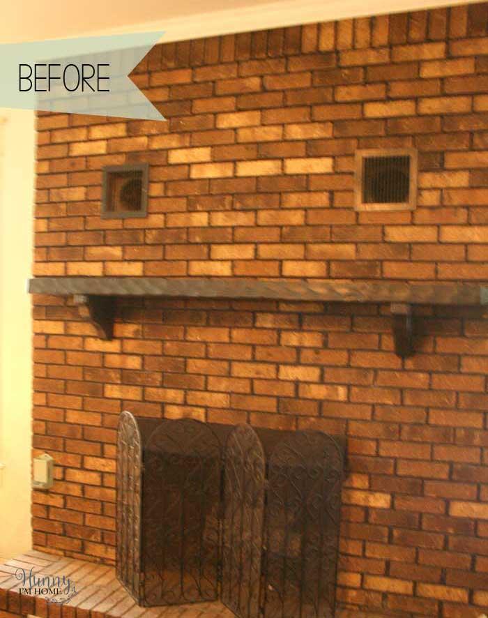 My Diy Farmhouse Fireplace Makeover