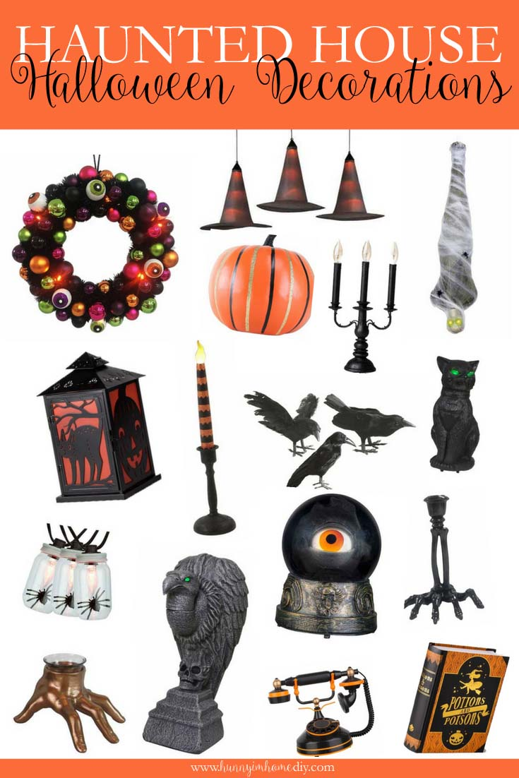 20 Haunted House Halloween Decorations to Make Your Home