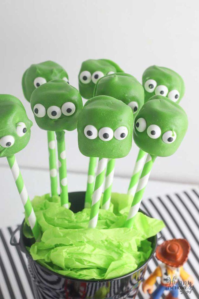 Fortnite Marshmallow Pops Simple Toy Story Alien Marshmallow Pops Hunny I M Home Diy