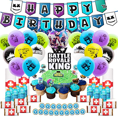Fortnite Birthday Poster 40 Awesome Fortnite Party Supplies Hunny I M Home