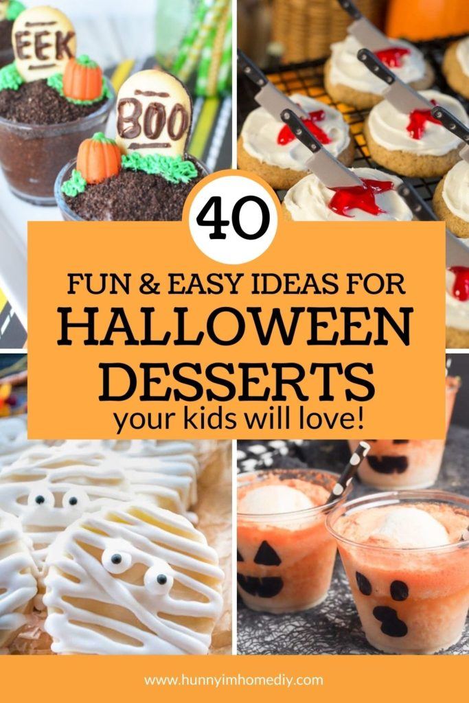 40 Halloween Themed Desserts To Haunt Your Party